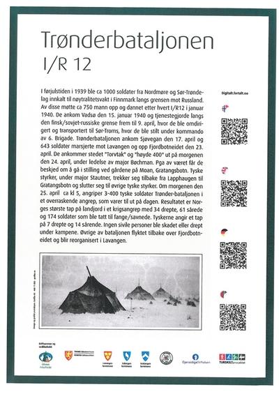 The Trønder battalion - I/IR 12
