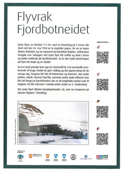 Flyvraket på Fjordbotneidet - GIRDIRÁHTTU – JALGESÁIDI
