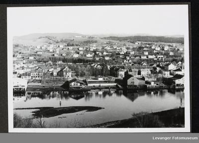 Utsikt over Levanger