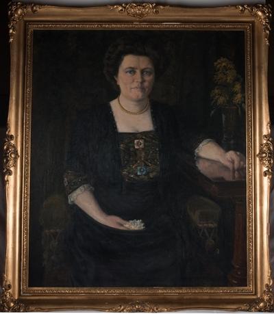 Portrett av Elisa Berentsen