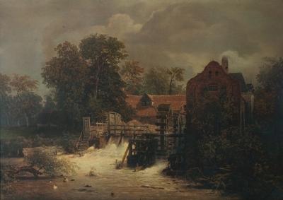 Gammel vannmølle, 1860