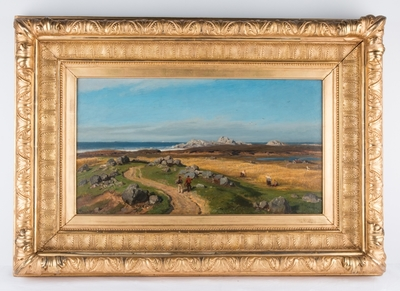 Kystlandskap, 1875