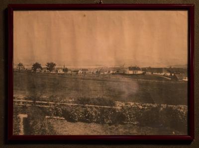 Utsikt mot øst fra Eiganesveien 38, ca 1875