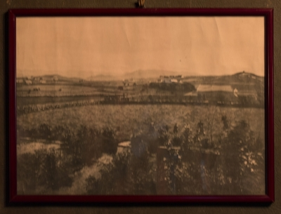 Utsikt mot syd fra Eiganesveien 38, ca 1875