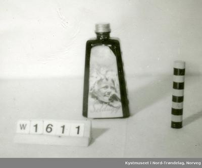 5 stk. Flasker med SOLPUGG