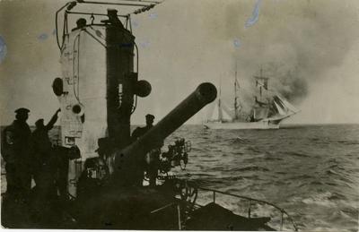 Ubåt med kanon