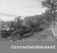 Utsikt over Klokkergården på Langnes