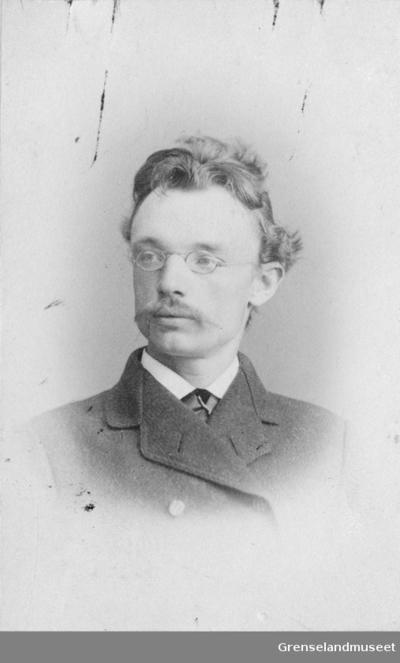 Portrett av Distriktslege Andreas Bredal Wessel som ung