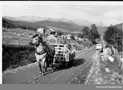 Riksveg 52 på 1950-talet
