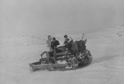 Storglomvatnet februar 1955