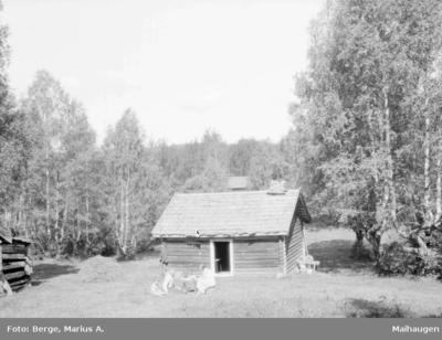 Husmannsplass ved Grimsrud gård ved Ransfjorden
