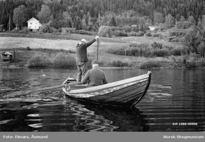 Garnfiske i Randsfjorden