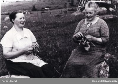 Guro Trøim og Birgit Kirkebøen