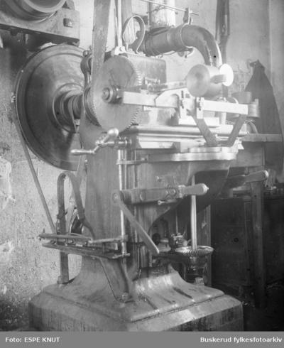 En industrimaskin