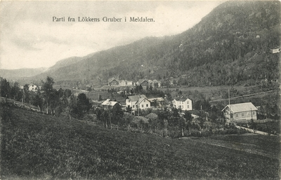 Parti fra Lökkens Gruber i Meldalen