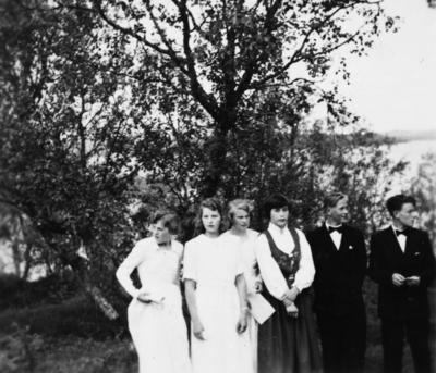 Konfirmasjon på Tranøya i 1953
