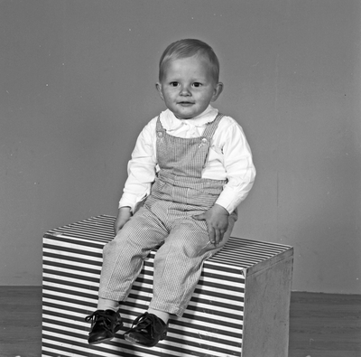 Portrett ung gutt