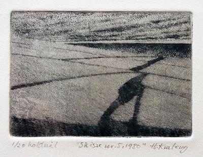 Skisse nr.5, 1980