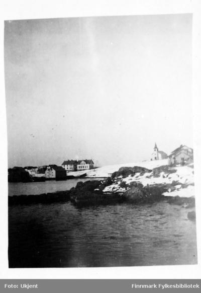 Dette er et postkort fra Øksfjord