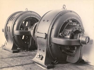 Omformar og generator frå CLAYTON-UNGER