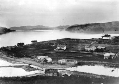 Oversiktsbilde fra Kirkenes i 1902