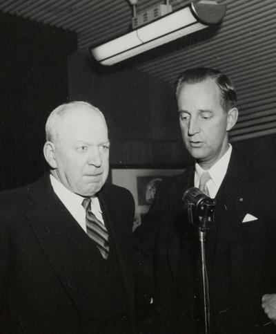 Alfred Ommundsen og Tor Øglænd