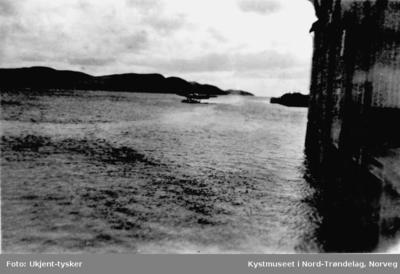 Tysk sjøfly lander i Nærøysundet