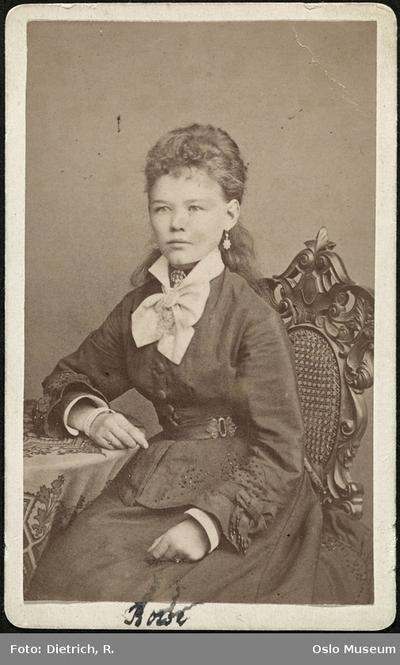 Alma Fahlstrøm.