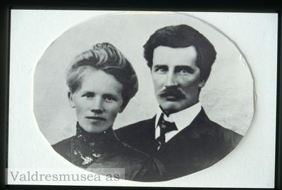Portrett av Knut og Theodora Kirkeberg