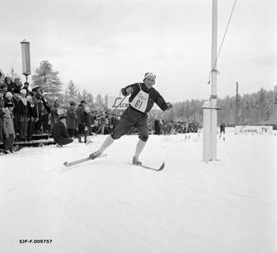 Langrennsløperen Hallgeir Brenden (1929-2007) fra grenda Tørberget i Trysil