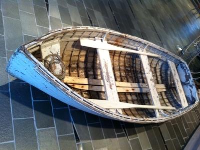 Livbåt på ubåtjagaren Vigra