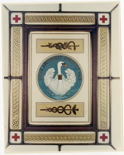 Fargefoto av emblem