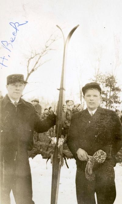Hans Beck og Sigmund Ruud i USA