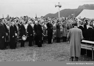 tusenårsstevne - Prosesjon i forbindelse med feiringen av 1000-års jubileet for slaget ved Rastarkalv
