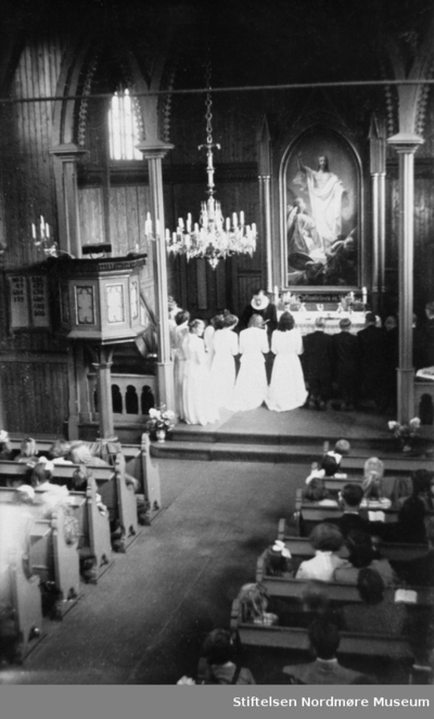 Konfirmasjon i Frei kirke