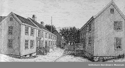 Katalog over bilder av eldre gateparti