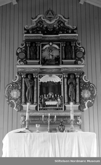 Foto muligens fra altertavlen i Bremsnes kirke på Averøy