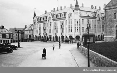 Fra det gamle torget i Kristiansund