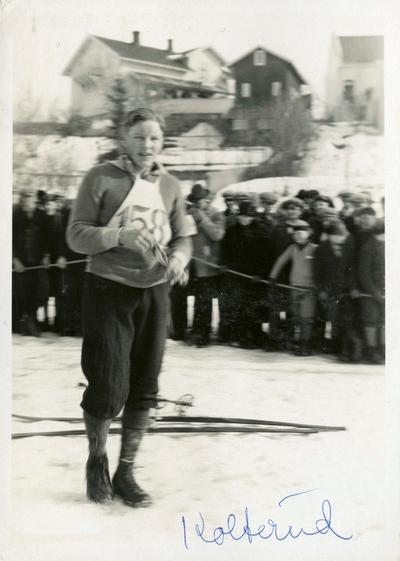 Sverre Kolterund under skirenn på Kongsberg