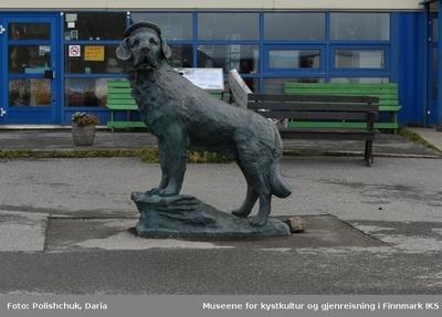 Skulptur Bamse