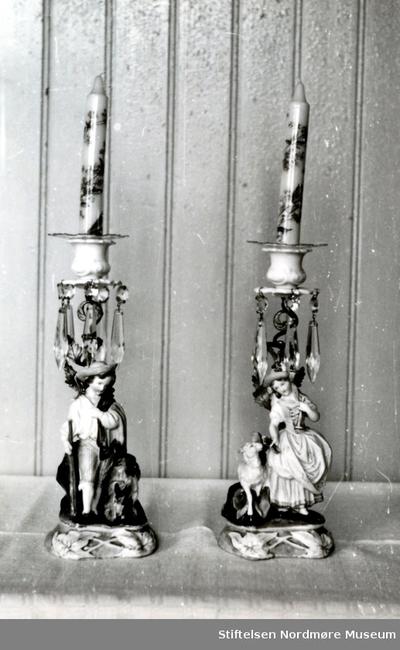 Lysestaker i pseudorokokko ca