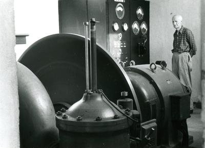 Deler til maskin ved kraftstasjon