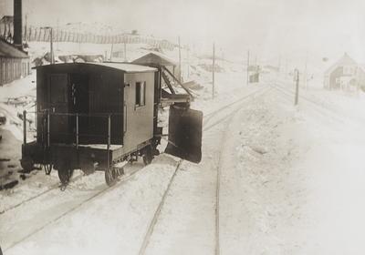 En av Bergensbanens snøskraper