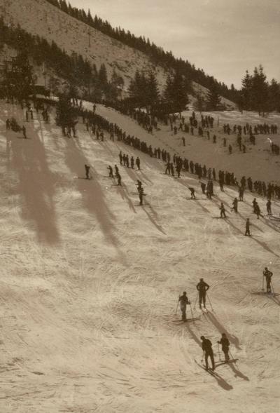 Etter skirennet