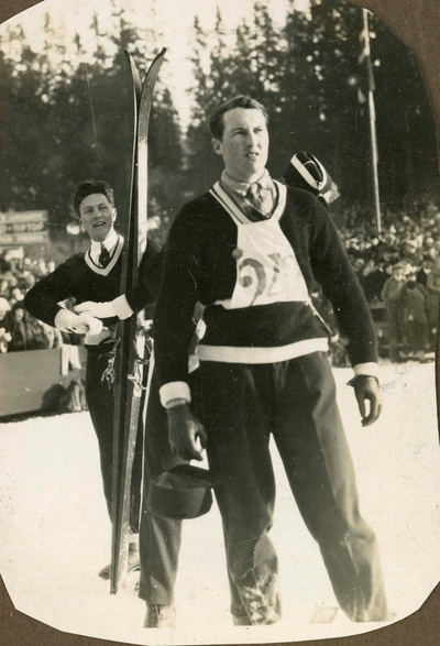 Reidar Andersen under konkurranse