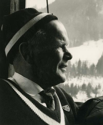 Sigmund Ruud i St. Moritz
