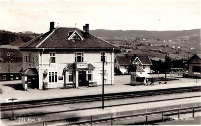Roa stasjon på Gjøvikbanen