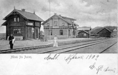 Åsen jernbanestasjon