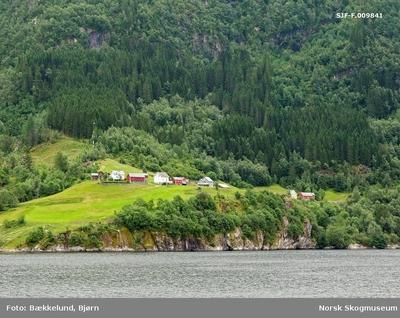 Landskapsbilde fra Granvinsfjorden