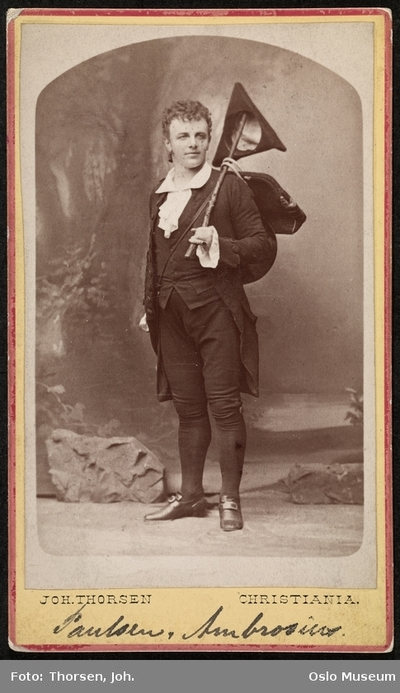Emil Poulsen i Ambrosius.